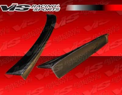 Spoilers - Custom Wing - VIS Racing - BMW 3 Series 2DR VIS Racing CSL Style Version 2 Carbon Fiber Spoiler - 99BME462DCSL2-003C