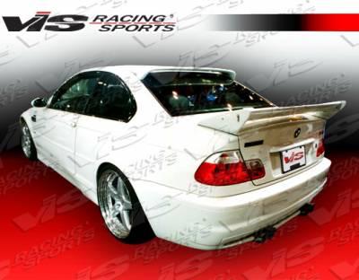 Spoilers - Custom Wing - VIS Racing - BMW 3 Series 4DR VIS Racing GTR Spoiler - 99BME464DGTR-003
