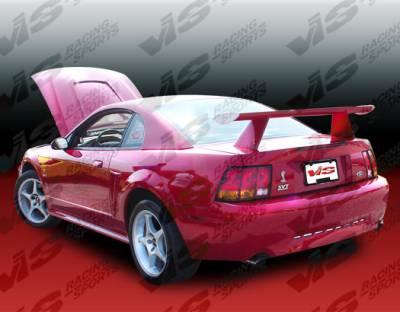 Spoilers - Custom Wing - VIS Racing - Ford Mustang VIS Racing Cobra R Spoiler - 99FDMUS2DCR-003