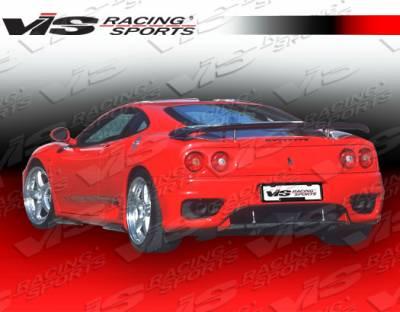 Spoilers - Custom Wing - VIS Racing - Ferrari 360 VIS Racing Euro Tech Spoiler - 99FR3602DET-003