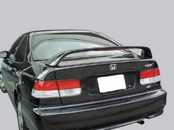 Spoilers - Custom Wing - VIS Racing - Honda Civic 2DR VIS Racing Factory Style Spoiler - 99HDCVC2DSI-003