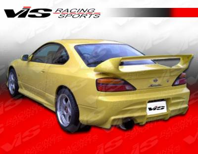 Spoilers - Custom Wing - VIS Racing - Nissan S15 VIS Racing Invader Rear Spoiler - 99NSS152DINV-003