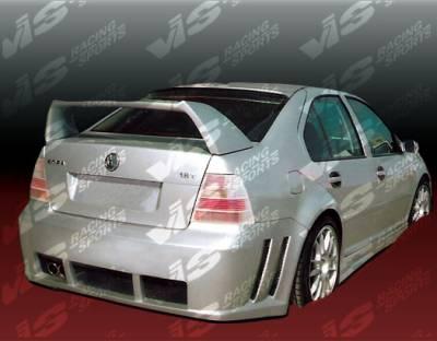 Spoilers - Custom Wing - VIS Racing - Volkswagen Jetta VIS Racing Titan Spoiler - 99VWJET4DTT-003