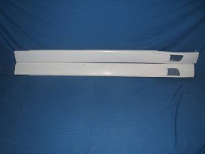 Cavalier 4Dr - Side Skirts - Bayspeed. - Chevrolet Cavalier Bay Speed C-Style Side Skirts - 1261C