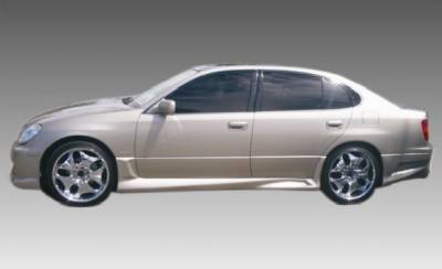 GS - Side Skirts - Bayspeed. - Lexus GS Bay Speed Cyber Side Skirts - 1283CY