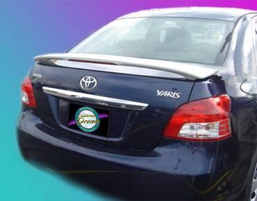 Spoilers - Custom Wing - California Dream - Toyota Echo California Dream Custom Style Spoiler with Light - Unpainted - 14L