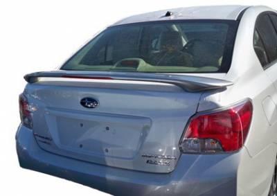 Spoilers - Custom Wing - California Dream - Subaru Impreza California Dream Custom Style Spoiler with Light - Unpainted - 162L