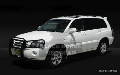 Grilles - Grille Guard - Black Horse - Toyota Highlander Black Horse Grille Guard - 17TL26SS