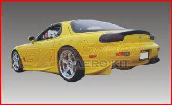 RX7 - Side Skirts - Bayspeed. - Mazda RX-7 Bay Speed Invader Style Side Skirts - 1994NV
