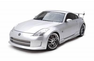 350Z - Body Kits - 3dCarbon - Nissan 350Z 3dCarbon Body Kit - 4PC - 691405