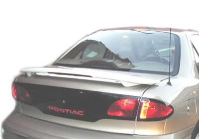 For Chevy Cavalier 00-02 Spoiler Flush Mount Factory Style Rear Spoiler w Light