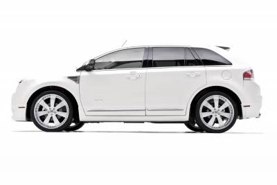 Ford Edge Dcarbon Fender Vents With Octagon Grille Pair