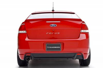 Focus ZX3 - Rear Add On - 3dCarbon - Ford Focus 3dCarbon Rear Lower Skirt - 691549