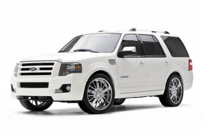 Expedition - Body Kits - 3dCarbon - Ford Expedition 3dCarbon Body Kit - 3PC - 691557