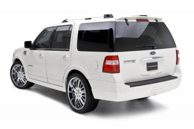 Spoilers - Custom Wing - 3dCarbon - Lincoln Navigator 3dCarbon Rear Hatch Spoiler - 691561