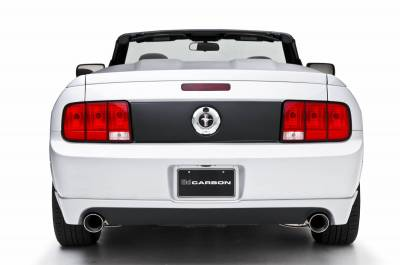 Mustang - Rear Add On - 3dCarbon - Ford Mustang 3dCarbon Rear Diffuser for Dual Exhaust - 691566