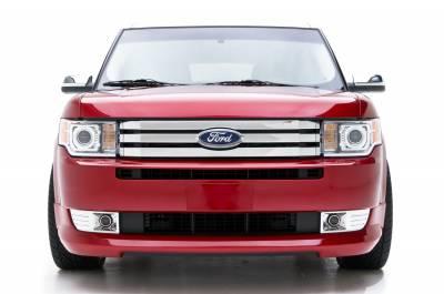 Flex - Front Bumper - 3dCarbon - Ford Flex 3dCarbon Front Air Dam - 691568