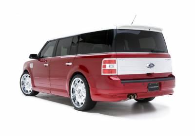 Flex - Rear Add On - 3dCarbon - Ford Flex 3dCarbon Rear Lower Skirt - 691577