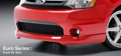 Focus 4Dr - Front Bumper - 3dCarbon - Ford Focus 3dCarbon Front Air Dam - 691592