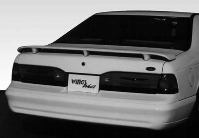 Spoilers - Custom Wing - Wings West - Style 3-Leg - No Light Spoiler