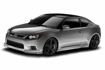 TC - Body Kits - 3dCarbon - Scion tC 3dCarbon Body Kit - 4PC - 691720