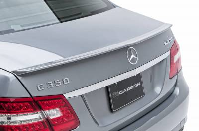 Spoilers - Custom Wing - 3dCarbon - Mercedes-Benz E Class 3dCarbon Rear Lip Spoiler - 691914