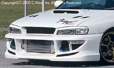 C-West - Front Bumper Without Fog Screw Holes 1.8 & 2.2l