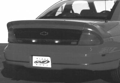 Wings West - 3pc 9in Rectangular Light Spoiler