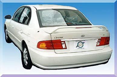Spoilers - Custom Wing - California Dream - Kia Optima California Dream Custom Style Spoiler with Light - Unpainted - 26L