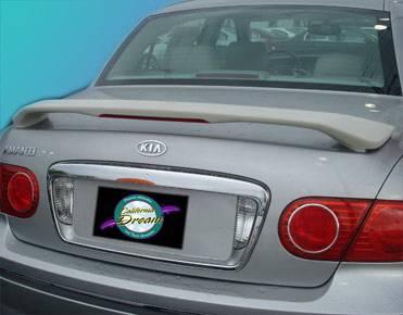 Spoilers - Custom Wing - California Dream - Kia Amanti California Dream Custom Style Spoiler with Light - Unpainted - 27L