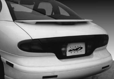 Spoilers - Custom Wing - Wings West - Factory Rectangular Light Spoiler