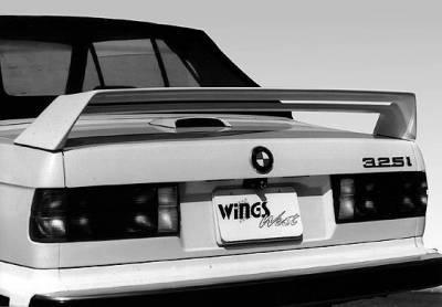 Spoilers - Custom Wing - Wings West - Double M3 Style Spoiler