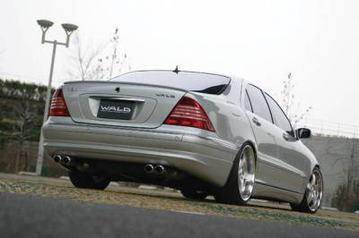 Wald - W220 Rear Trunk Lid Spoiler