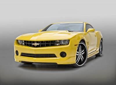 Camaro - Front Bumper - 3dCarbon - Chevrolet Camaro 3dCarbon Front Air Dam - 692004