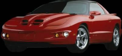 Firebird - Hoods - APM - Pontiac Firebird APM Plastic WS6 Style Functional Hood - Painted - 801190