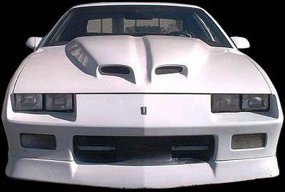 APM. - Chevrolet Camaro APM Fiberglass WS6 Style Functional Hood - Primed - 811002