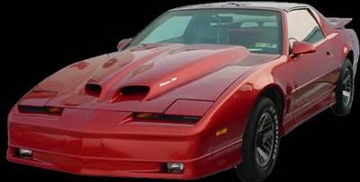 APM. - Pontiac Trans Am APM Fiberglass WS6 Style Functional Hood - Painted - 811210