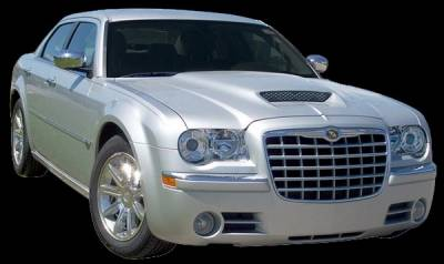 300 - Hoods - APM - Chrysler 300 APM Fiberglass Functional Hood - Painted - 811280