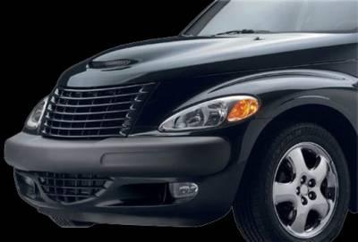 APM. - Chrysler PT Cruiser APM Fiberglass Functional Hood - Primed - 811382