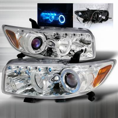 Headlights & Tail Lights - Headlights - Custom Disco - Scion xB Custom Disco Blue Projector Headlights - 2LHP-XB08B-TM
