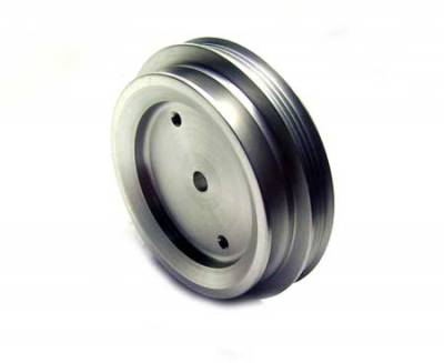 Performance Parts - Pulleys - Auto Specialties - Auto Specialties Crank Pulley with 26 Percent Reduction - Nitride - 840105