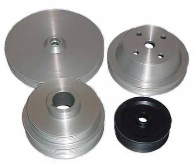 Performance Parts - Pulleys - Auto Specialties - Auto Specialties Crank Pulley with 25 Percent Reduction - Nitride - 924350