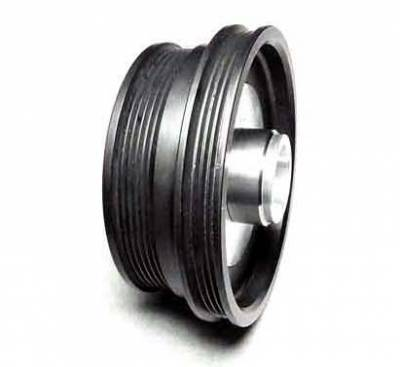 Performance Parts - Pulleys - Auto Specialties - Auto Specialties Harmonic Balancer Pulley with 25 Percent Reduction - Full Charge 900 RPM - Nitride - 941020