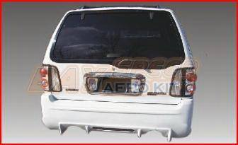 Navigator - Rear Bumper - Bayspeed. - Lincoln Navigator Bay Speed SAR Style Rear Bumper - 3001SAR