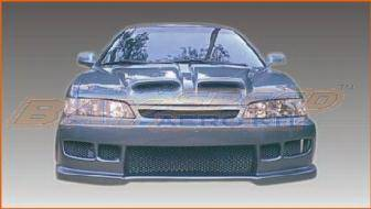 Accord 2Dr - Body Kits - Bayspeed. - Honda Accord 2DR Bayspeed Black Widow Style Full Body Kit - 8134BW, 1143BW, 3019BW