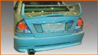 Mirage 4Dr - Rear Bumper - Bayspeed. - Mitsubishi Mirage 4DR Bay Speed EVO 5 Style Rear Bumper - 3041EV5