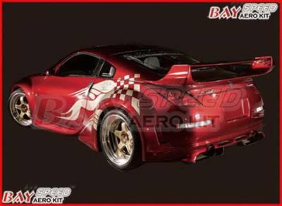 Spoilers - Custom Wing - Bayspeed. - Nissan 350Z Bay Speed VS3 Spoiler - 3050V3-S