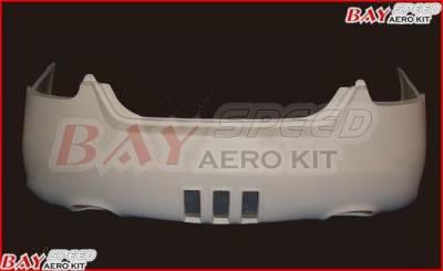Maxima - Rear Bumper - Bayspeed. - Nissan Maxima Bay Speed SAR Style Rear Bumper - 3054SAR