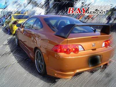 RSX - Rear Bumper - Bayspeed. - Acura RSX Bayspeed INGS Style Rear Bumper - 3058NG