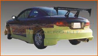 Sunfire - Rear Bumper - Bayspeed. - Pontiac Sunfire Bay Speed Blitz Style Rear Bumper - 3065B